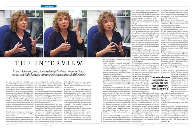 Article Preview: THE INTERVIEW, March 14 2016 | Maclean's
