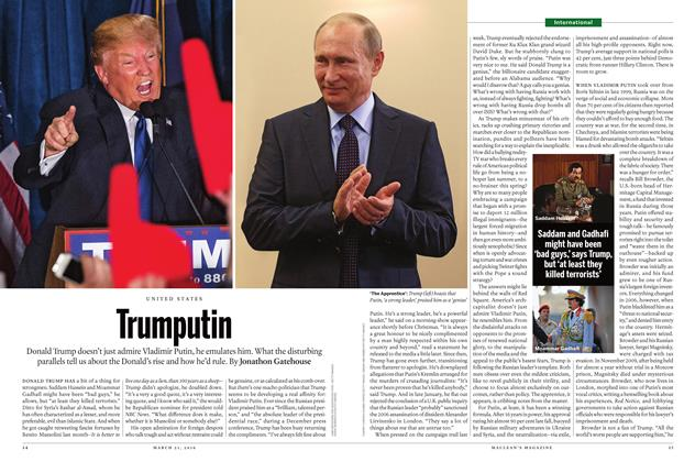 Article Preview: Trumputin, March 21 2016 | Maclean's