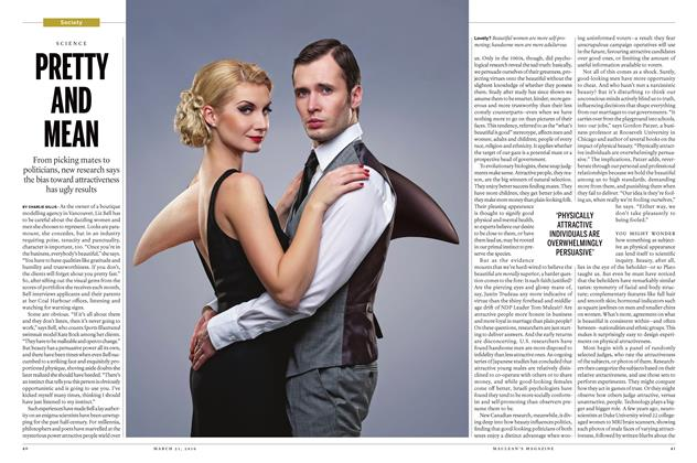 Article Preview: PRETTY AND MEAN, March 21 2016 | Maclean's