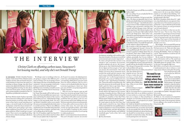 Article Preview: THE INTERVIEW, March 21 2016 | Maclean's