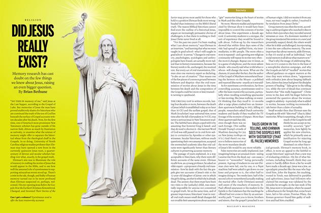 Article Preview: DID JESUS REALLY EXIST?, April 4 2016 | Maclean's