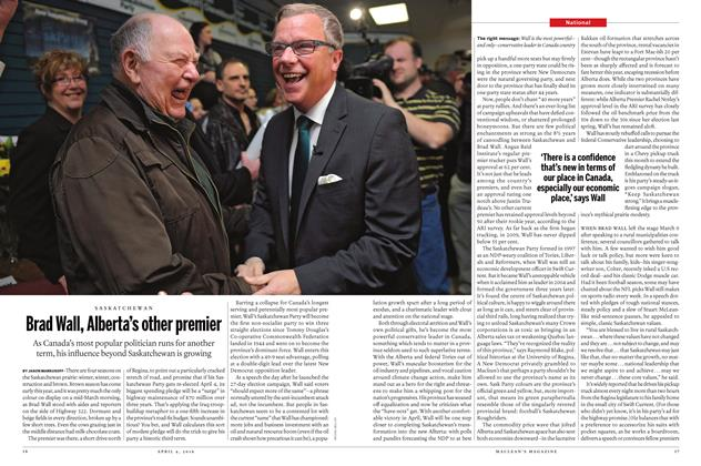 Article Preview: Brad Wall, Alberta's other premier, April 4 2016 | Maclean's