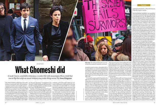 Article Preview: What Ghomeshi did, APRIL 11, 2016 2016 | Maclean's
