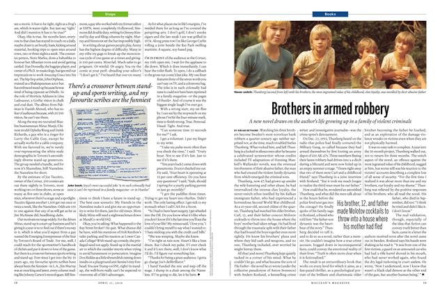 Article Preview: Brothers in armed robbery, April 11 2016 | Maclean's