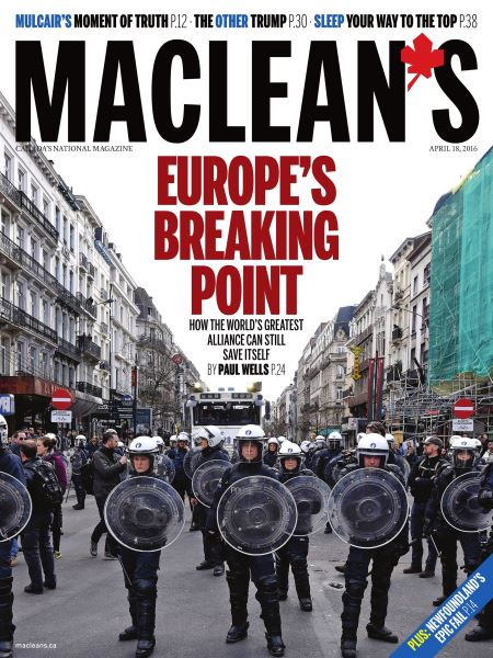 Issue: - April 18 2016 | Maclean's