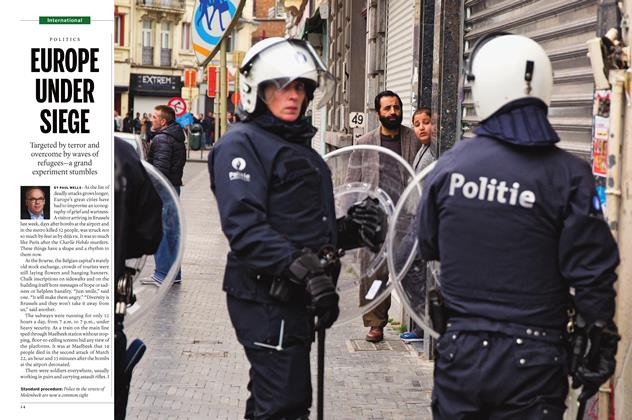 Article Preview: EUROPE UNDER SIEGE, April 18 2016 | Maclean's