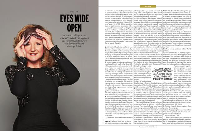 Article Preview: EYES WIDE OPEN, April 18 2016 | Maclean's