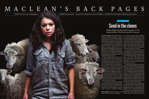 Article Preview: Send in the clones, April 18 2016 | Maclean's