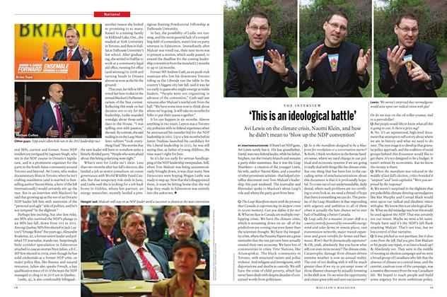 Article Preview: 'This is an ideological battle', April 25 2016 | Maclean's