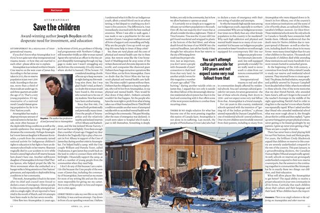 Article Preview: Save the children, April 25 2016 | Maclean's
