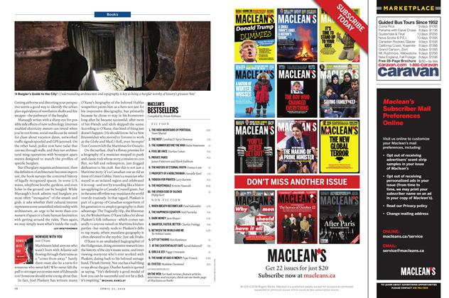 Article Preview: MACLEAN'S BESTSELLERS, April 25 2016 | Maclean's