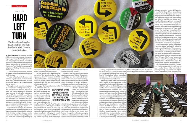 Article Preview: HARD LEFT TURN, April 25 2016 | Maclean's