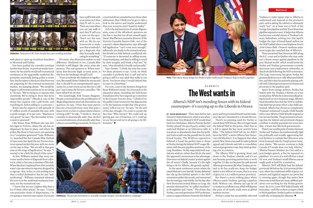 Article Preview: The West wants in, May 2 2016 | Maclean's