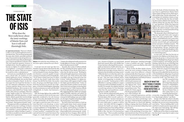 Article Preview: THE STATE OF ISIS, May 2 2016 | Maclean's