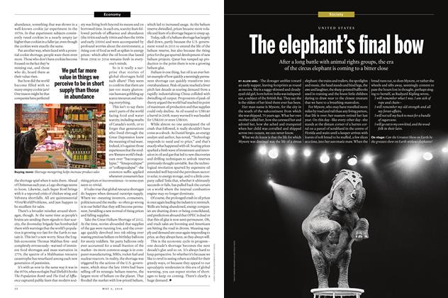 Article Preview: The elephant's final bow, May 2 2016 | Maclean's