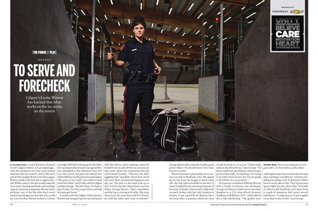 Article Preview: TO SERVE AND FORECHECK, May 2 2016 | Maclean's