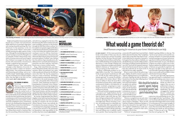 Article Preview: What would a game theorist do?, May 2 2016 | Maclean's