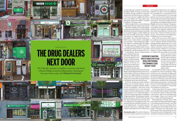 Article Preview: THE DRUG DEALERS NEXT DOOR, May 2 2016 | Maclean's