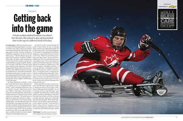 Article Preview: Getting back into the game, May 9 2016 | Maclean's