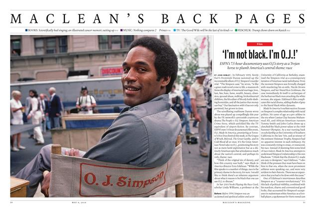 Article Preview: 'I'm not black. I'm O.J.!', May 9 2016 | Maclean's