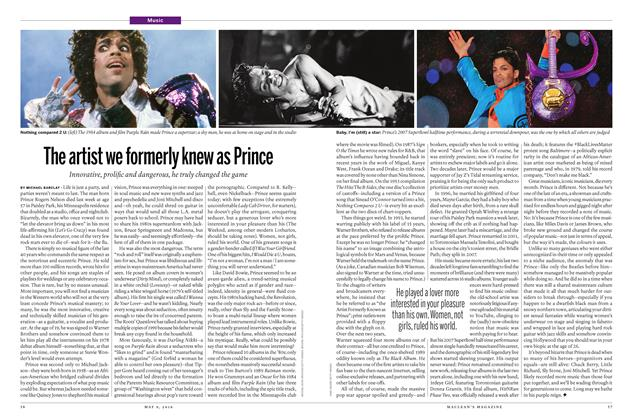 Article Preview: The artist we formerly knew as Prince, May 9 2016 | Maclean's