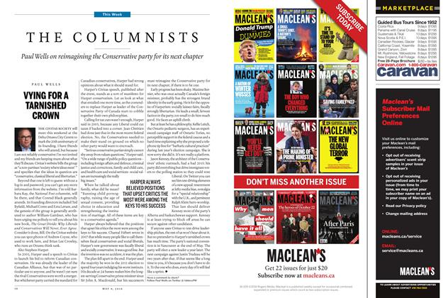 Article Preview: THE COLUMNISTS, May 9 2016 | Maclean's