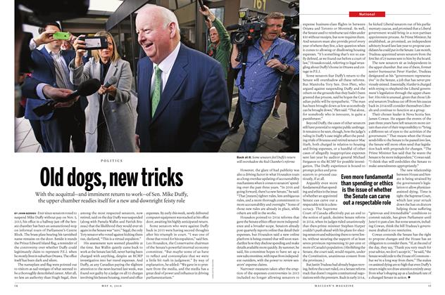 Article Preview: Old dogs, new tricks, May 9 2016 | Maclean's