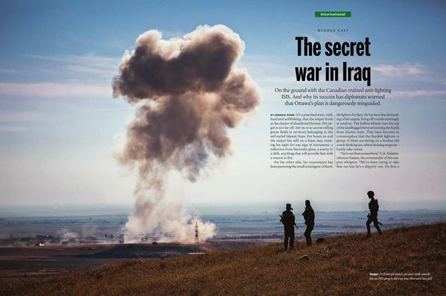 Article Preview: The secret war in Iraq, May 16 2016 | Maclean's