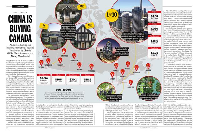 Article Preview: CHINA IS BUYING CANADA, May 16 2016 | Maclean's