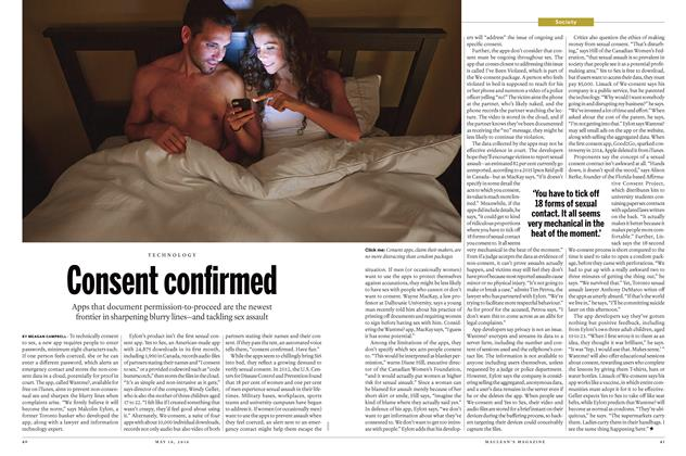 Article Preview: Consent confirmed, May 16 2016 | Maclean's