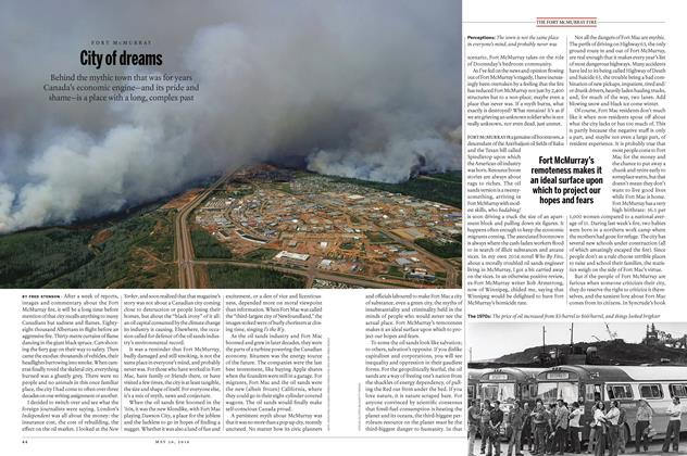 Article Preview: City of dreams, May 30 2016 | Maclean's
