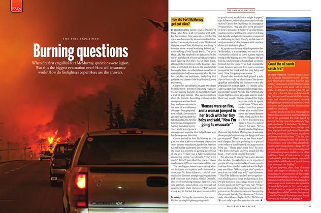Article Preview: How did Fort McMurray get out alive?, May 30 2016 | Maclean's