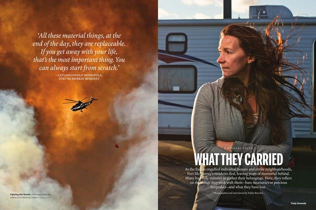 Article Preview: WHAT THEY CARRIED, May 30 2016 | Maclean's
