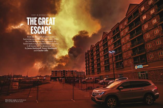 Article Preview: THE GREAT ESCAPE, May 2016 | Maclean's