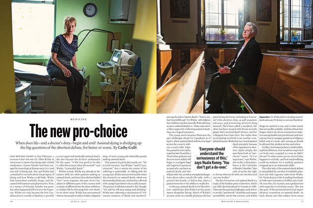 Article Preview: The new pro-choice, June 6 2016 | Maclean's