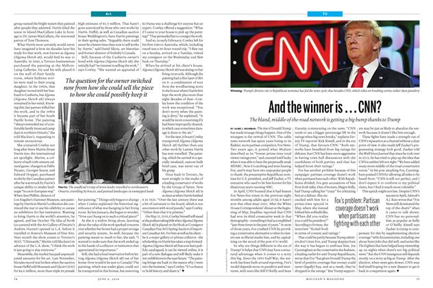 Article Preview: And the winner is . . . CNN?, June 6 2016 | Maclean's