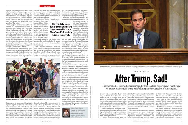 Article Preview: After Trump. Sad!, June 13 2016 | Maclean's