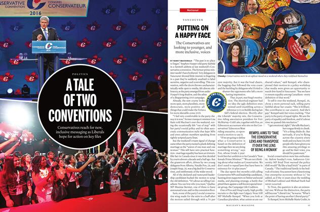 Article Preview: PUTTING ON A HAPPY FACE, June 13 2016 | Maclean's