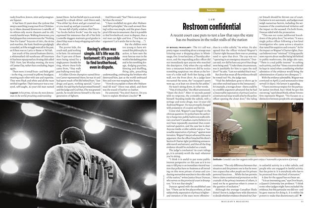 Article Preview: Restroom confidential, June 20 2016 | Maclean's