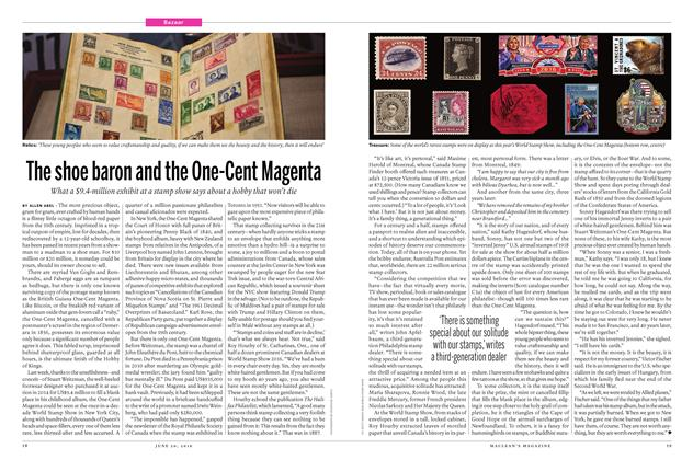 Article Preview: The shoe baron and the One-Cent Magenta, June 20 2016 | Maclean's