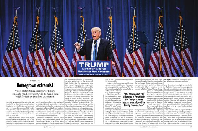 Article Preview: Homegrown extremist, June 2016 | Maclean's