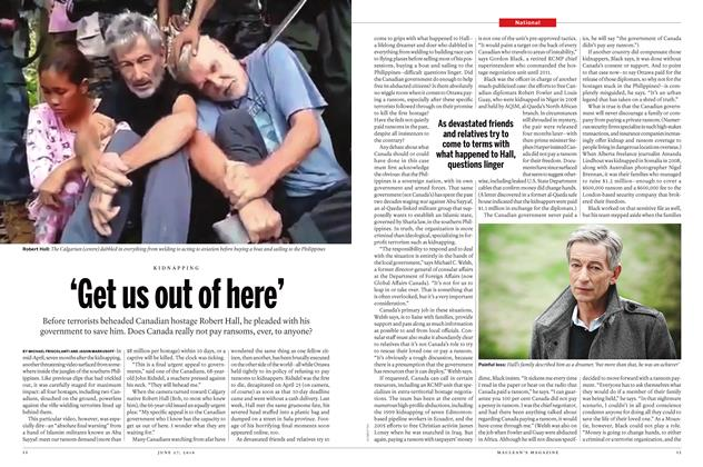 Article Preview: 'Get us out of here', June 2016 | Maclean's