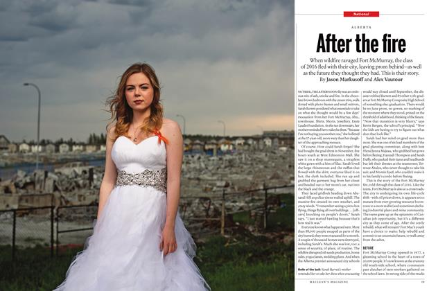 Article Preview: After the fire, July 2016 | Maclean's