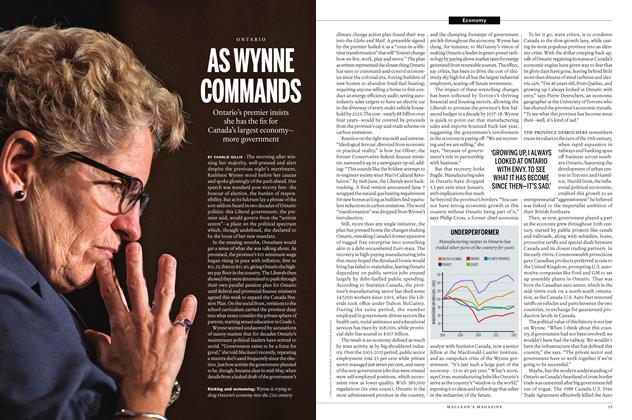 Article Preview: AS WYNNE COMMANDS, July 2016 | Maclean's