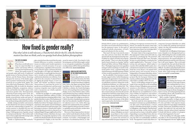 Article Preview: How fixed is gender really?, July 2016 | Maclean's