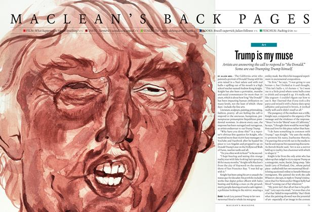 Article Preview: Trump is my muse, JULY 11 & 18 2016 | Maclean's