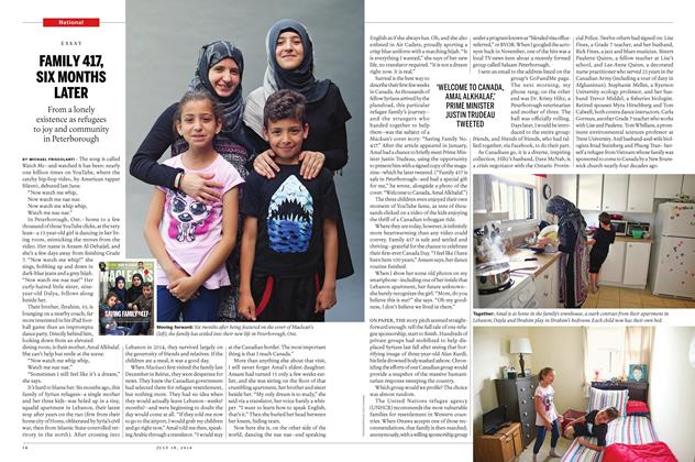 Article Preview: FAMILY 417, SIX MONTHS LATER, JULY 11 & 18 2016 | Maclean's