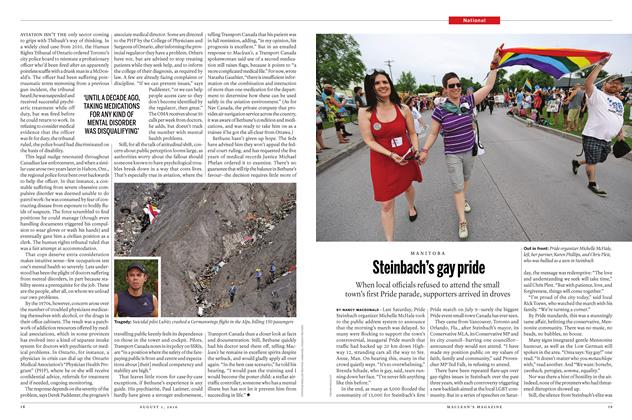 Article Preview: Steinbach's gay pride, August 1 2016 | Maclean's