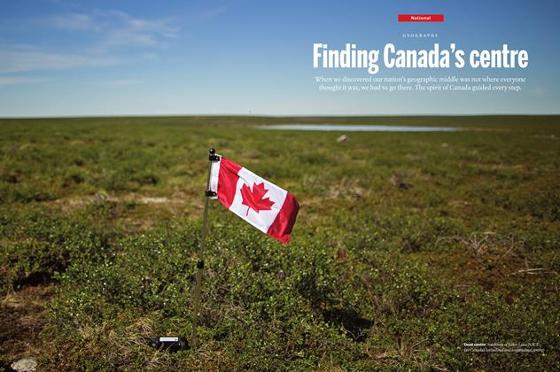 Article Preview: Finding Canada's centre, August 1 2016 | Maclean's
