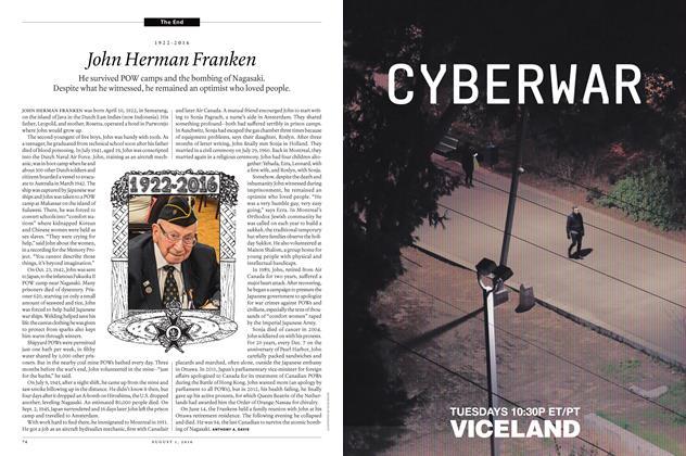 Article Preview: 1922-2016 John Herman Franken, August 1, 2016 2016 | Maclean's